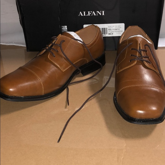 Alfani W Mens Adam Cap Toe Oxford 85